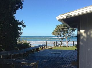Kiwiana Bach, Ocean Beach Road, Ocean Beach, Hastings (Bachcare) : From $150.00 - $330.00 per night - 2 night minimum stay